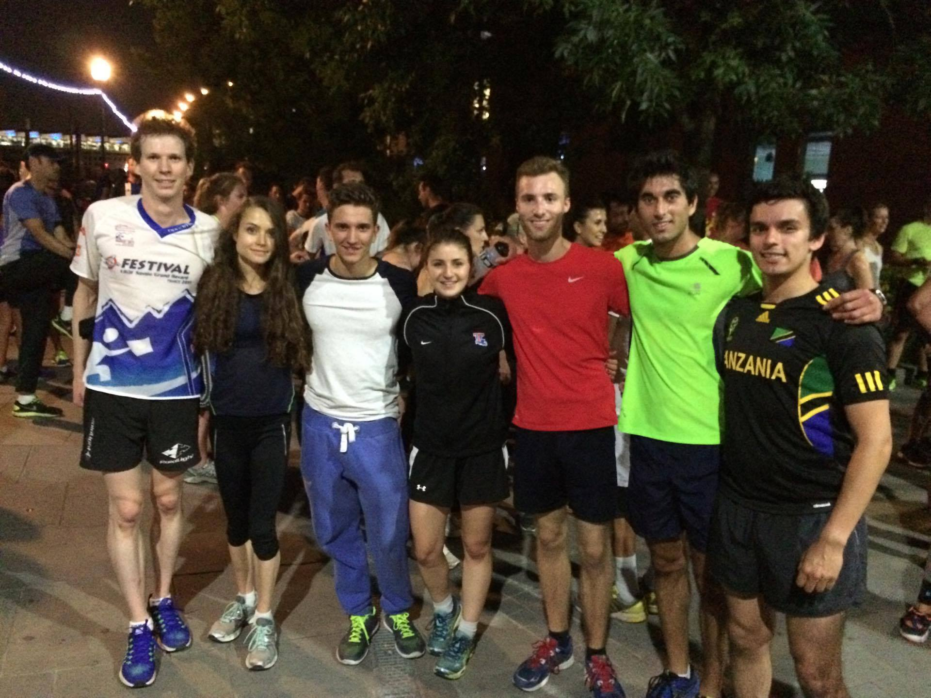 de4cfea5ce1d47 Imperial College London students at the Midnight Runners