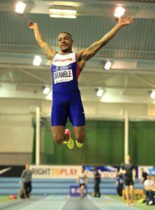 Dan Bramble British champion - Men's Long Jump